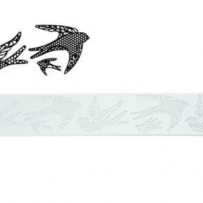 "Tapis Texture Tricot ""Birds"" ~ 40 cm"