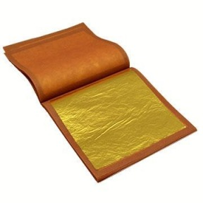 Feuilles d'Or Alimentaire 22 Carats