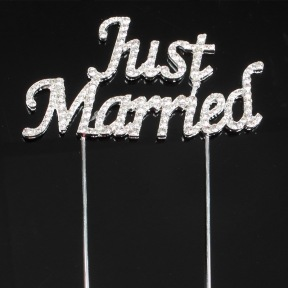 Cake Topper Mariage Just Married